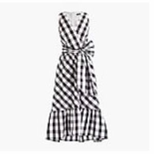 J Crew gingham summer dress